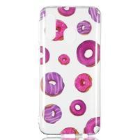 Printy silikónový obal na Samsung Galaxy A40 - donuty