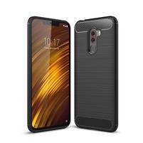 Carb odolný gélový kryt na Xiaomi Pocophone F1 - čierny
