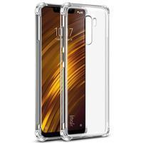 IMK gélový kryt so zosilnenými rohy na Xiaomi Pocophone F1 - priehľadný