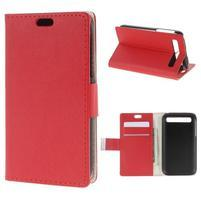 Peňaženkové puzdro pre mobil BlackBerry Classic - červené