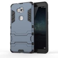 Outdoor odolný kryt pre mobil Honor 5X - tmavomodrý