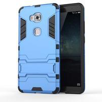Outdoor odolný kryt pre mobil Honor 5X - svetlomodrý
