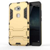 Outdoor odolný kryt pre mobil Honor 5X - zlatý