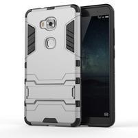 Outdoor odolný kryt pre mobil Honor 5X - šedý