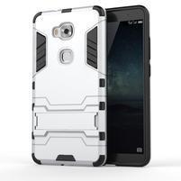 Outdoor odolný kryt pre mobil Honor 5X - strieborny