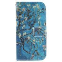 Peněženkové pouzdro na mobil LG K10 - kvetoucí strom