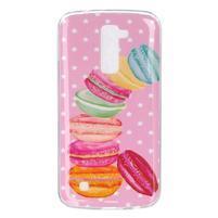 Fony gelový obal na mobil LG K10 - makronky