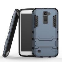 Odolný kryt pre mobil LG K10 - tmavomodrý