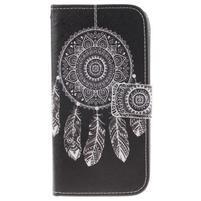 Peňaženkové puzdro pre mobil LG K10 - lapač snov