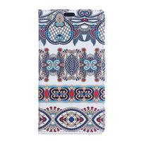 Style peňaženkové puzdro pre LG K4 - pattern