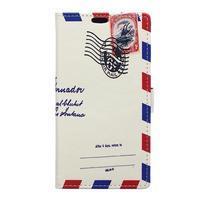 Style peňaženkové puzdro pre LG K4 - air mail