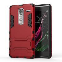 Outdoor odolný kryt pre mobil LG Zero - červený