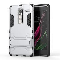 Outdoor odolný kryt na mobil LG Zero - stříbrný