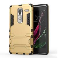 Outdoor odolný kryt pre mobil LG Zero - zlatý