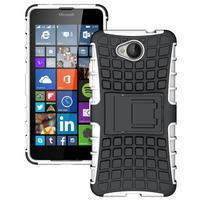 Outdoor odolný obal pre mobil Microsoft Lumia 650 - biely
