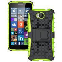 Outdoor odolný obal pre mobil Microsoft Lumia 650 - zelený