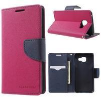 Goospery peňaženkové puzdro pre Samsung Galaxy A3 (2016) - rose