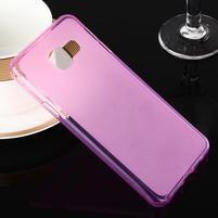 Matný gélový obal pre Samsung Galaxy A3 (2016) - růžový
