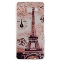 Ultratenký gélový obal pre mobil Samsung Galaxy A3 (2016) - Eiffelova veža
