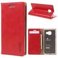 Mercury peňaženkové puzdro na Samsung Galaxy A3 (2016) - červené