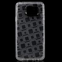 Square gélový obal na mobil Samsung Galaxy A3 (2016) - transparentný