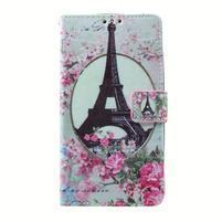 Peňaženkové puzdro pre mobil Lenovo A536 - Eiffelova veža