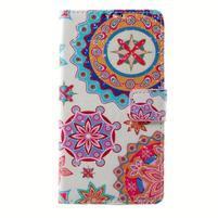 Peňaženkové puzdro pre mobil Lenovo A536 - mandala
