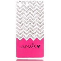 Style gélový obal pre Sony Xperia M5 - smile