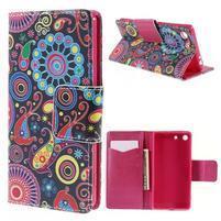 Crafty Peňaženkové puzdro pre Sony Xperia M5 - magic