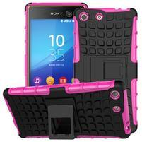 Outdoor odolný kryt pre mobil Sony Xperia M5 - rose