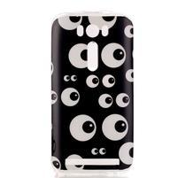 Softy gélový obal pre mobil Asus Zenfone 2 Laser - očička