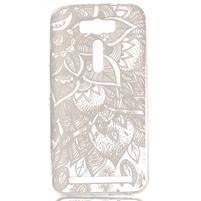 Retrostyle gélový obal pre Asus Zenfone 2 Laser - henna