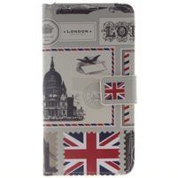 Peňaženkové puzdro pro mobil Honor 5X - Velká Británie