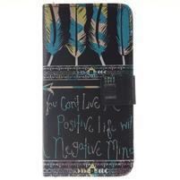 Peňaženkové puzdro pro mobil Honor 5X - quote