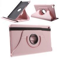 Otočné polohovatelné pouzdro na Huawei MediaPad M2 - růžové