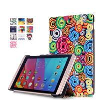 Třípolohové pouzdro na tablet Huawei MediaPad M2 8.0 - vortex