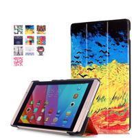 Třípolohové pouzdro na tablet Huawei MediaPad M2 8.0 - olejomalba