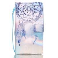 Picture PU kožené pouzdro na Huawei P8 Lite - lapač snů