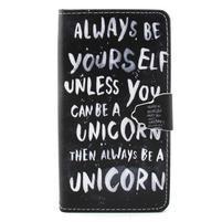 Emotive puzdro na mobil Huawei P8 Lite - unicorn