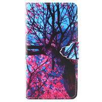 Emotive pouzdro na mobil Huawei P8 Lite - malovaný strom