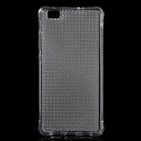 Diamonds gelový obal na Huawei P8 Lite - transparentní