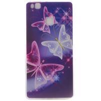 Ultratenký gelový obal na Huawei P9 Lite - kouzelní motýlci