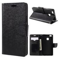 Easy peněženkové pouzdro na mobil Huawei P9 Lite - černé