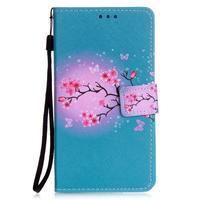 Emotive pouzdro na mobil Huawei P9 Lite - květoucí svěstka
