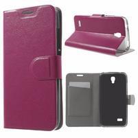 Horse peňaženkové puzdro na mobil Huawei Y5 a Y560 - rose