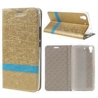 Lines puzdro na mobil Huawei Y6 - zlaté
