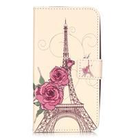 Knižkové puzdro na mobil Huawei Y6 Pro - Eiffelova věž