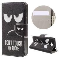 Emotive peňaženkové puzdro na mobil Huawei Y6 Pro - nesiahať