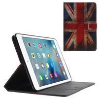 Štýlové puzdro pre iPad mini 4 - UK vlajka