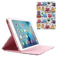 Štýlové puzdro pre iPad mini 4 - banda soviček